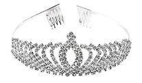 Fashion Royal Rhinestone Crystal Bridal Princess Tiara Crown