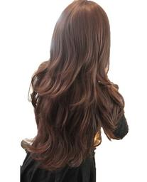 Womens Girls Fashion Wavy Curly Long Hair Human Full Wigs +