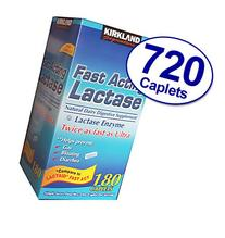 Kirkland Signature Fast Acting Lactase, Compare to Lactaid