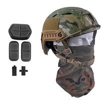 LOOGU FAST BJ Base Jump Military Helmet with 12-in-1