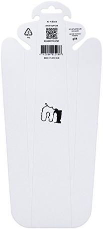 Mucky Nutz Fat Butt Fender, White