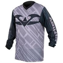 Valken Fate II Paintball Jersey - Grey / Black - Large