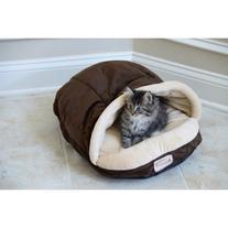 Faux Suede and Velvet Pet Nest