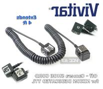 Vivitar FCNIK Flash Cord for Nikon Digital Cameras