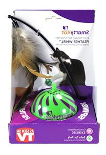 SmartyKat Feather Whirl Electronic Motion Cat Toy, As Seen