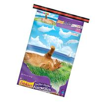 Friskies Dry Cat Food, Surfin' and Turfin' Favorities, 16-