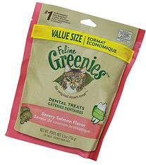 FELINE GREENIES 5.5-Ounce Package, Salmon