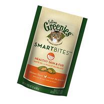 Feline Greenies Smartbites Healthy Skin and Fur Chicken