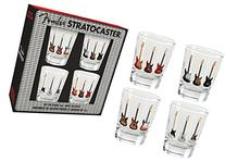 Aquarius Fender Stratocaster Shot Glass Set
