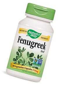 Nature's Way Fenugreek Seed Capsules, 100-Count