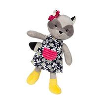 Fernwoods River Raccoon Plush Toy, 11-Inch