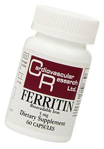Cardiovascular Research Ferritin Tablets, 60 Count