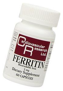 Cardiovascular Research Ferritin Capsules, 60 Count