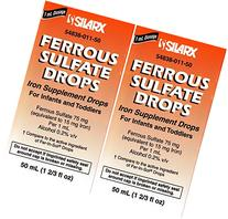 Ferrous Drops Iron Supplement Peppermint Flavor Generic for