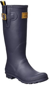Joules Women's Field Welly Rain Boot, Navy, 9 M US