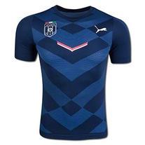 Puma Men's FIGC Italia Stadium Jersey, Team Power Blue/Pea
