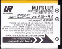 Fujifilm Original OEM Battey - Fujifilm NP-45A Li-Ion