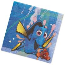 Finding Dory Lunch Napkins, 16 Count