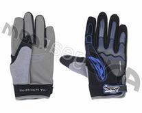 JT Full Finger Paintball Gloves - Blue