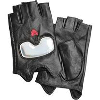 Karl Lagerfeld Fingerless Leather Gloves