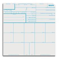 Fingerprint Cards, Applicant FD-258, 10 pack