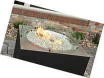 Fire Pit Round Glass Guard