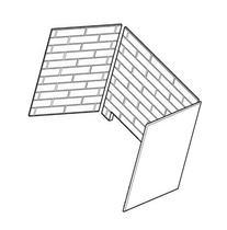 Firebrick Walls for 600DVM Fireplace Systems Cottage