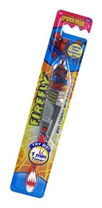 Firefly Toothbrush Spiderman Flashing 1 Min Timer