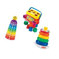 Fisher Price Baby's First Blocks with Stack And Roll Cups &