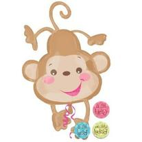 """Fisher Price Monkey It's a Boy or Girl Welcome Baby 40"""""""