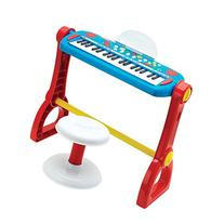 Fisher Price Music Play-Along Keyboard with Stool