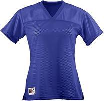 Augusta Sportswear WOMEN'S JUNIOR FIT REPLICA FOOTBALL TEE