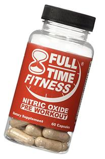 Full-Time Fitness Nitric Oxide Pre Workout Pills - NO