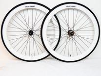 Fixie Wheels 700c White Wheelset By Sgvbicycles