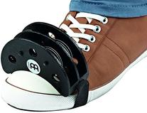 Meinl Percussion FJS2S-BK Cajon Player's Foot Tambourine