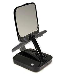 Floxite Fl-10bst 10x Lighted Adjustable Compact Mirror With