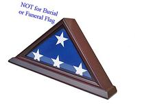3'X5' Flag Display Case Box , SOLID WOOD