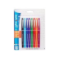 Paper Mate Flair Porous-Point Felt Tip Pen, Medium Tip, 8-