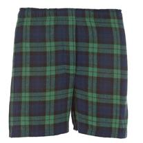 Boxercraft Men's Cotton Flannel Plaid Boxer Sleep Shorts,