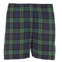 Boxercraft Men's Cotton Flannel Plaid Boxer Sleep Shorts,