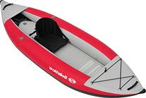 Solstice Flare 1 Person Kayak, Red
