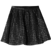 Karl Lagerfeld Flared Mini Skirt