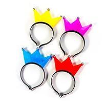 LED Flashing Light-Up Crown Headband