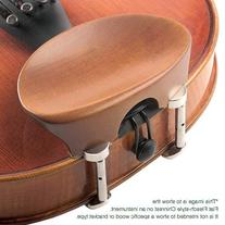 Flat Flesch All-Size Viola Chinrest - Rosewood with Hill