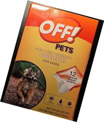 FLE & TICK REPELLENT TOWELETTES FOR DOGS