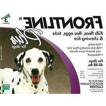 Flea Control Plus for 45-88 lbs. Dogs and Puppies -1 box of