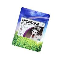 Frontline Plus Flea Tick and Lice Control for Dogs 45-88 lbs