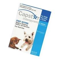 Capstar Flea Treatment For Dogs & Cats 2-25 lbs Blue - 6