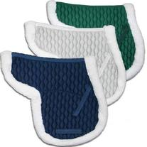 Derby Originals AP Fleece Padded Contour English Saddle Pad