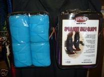 Weaver Leather Fleece Polo Wraps Turquoise Horse Tack